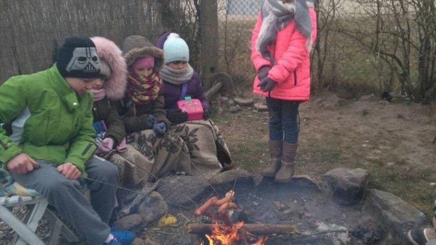 Feryjna wycieczka uczniów ZPPO w Broku