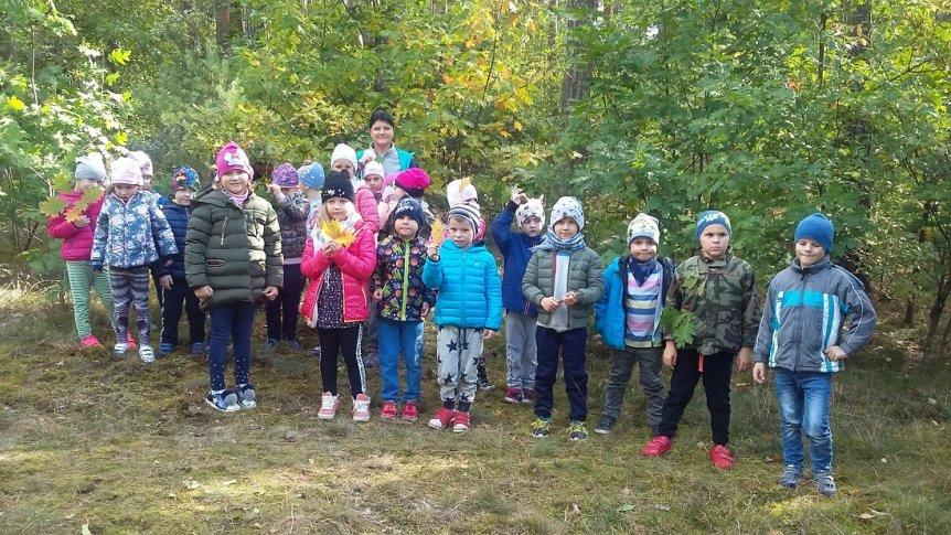 Powitanie Jesieni w Przedszkolu Miejskim w Broku