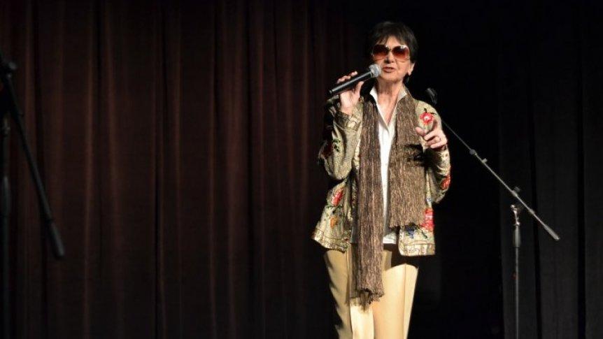 Halina Kunicka wystąpiła w Broku