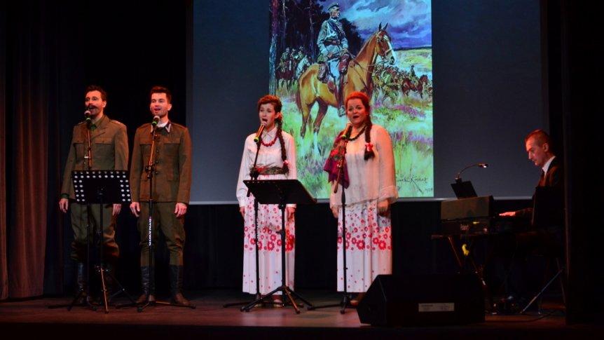 Koncert pieśni patriotycznych z okazji obchodów 100-lecia Niepodległości Polski