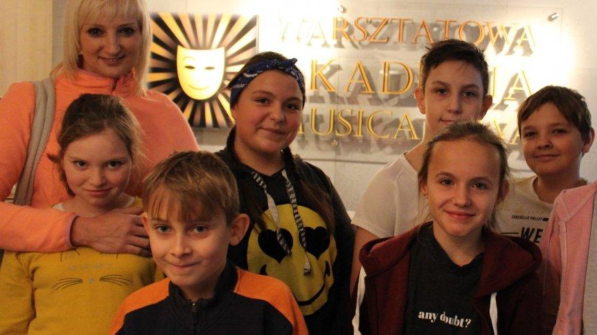 Wizyta uczniów z ZPPO w Broku w Warsztatowej Akademii Musicalowej w Warszawie