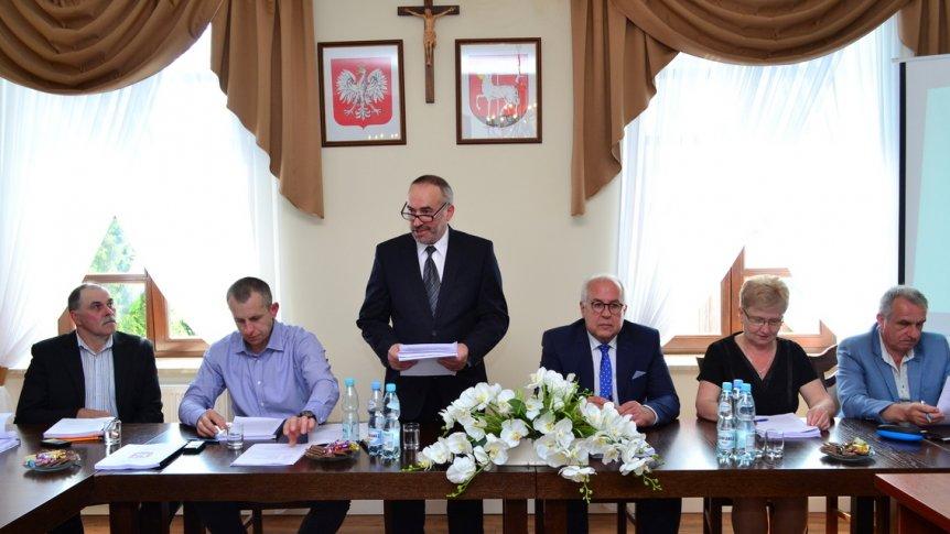 IV sesja Rady Gminy w Broku
