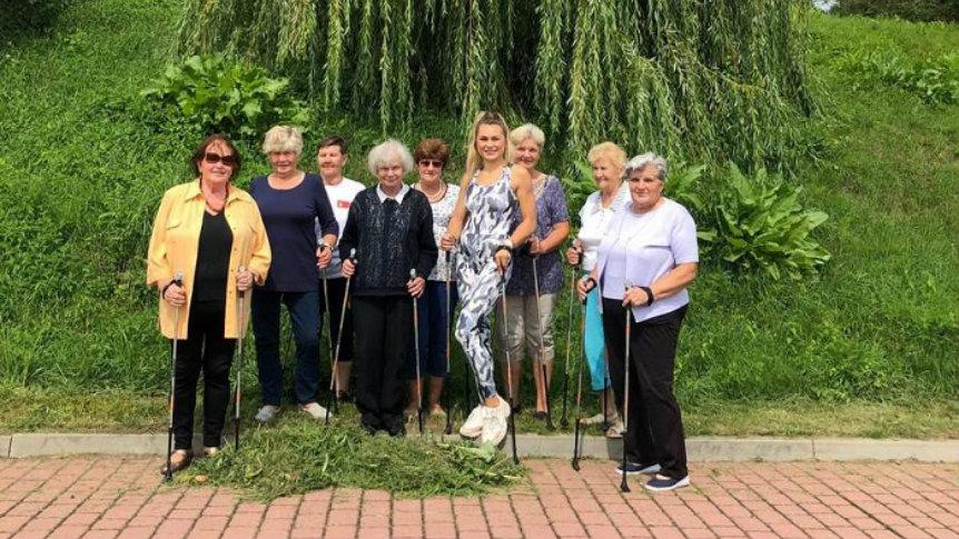 Brokowscy seniorzy dbają o zdrowie