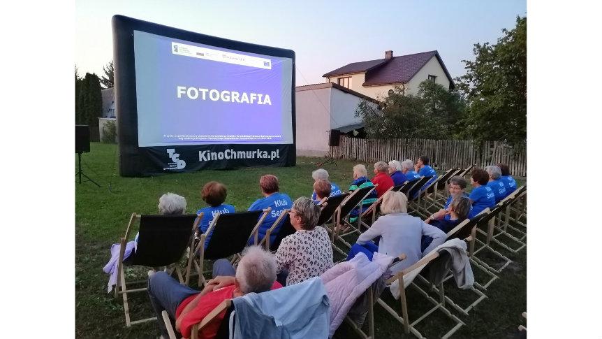 Kino plenerowe w Broku!