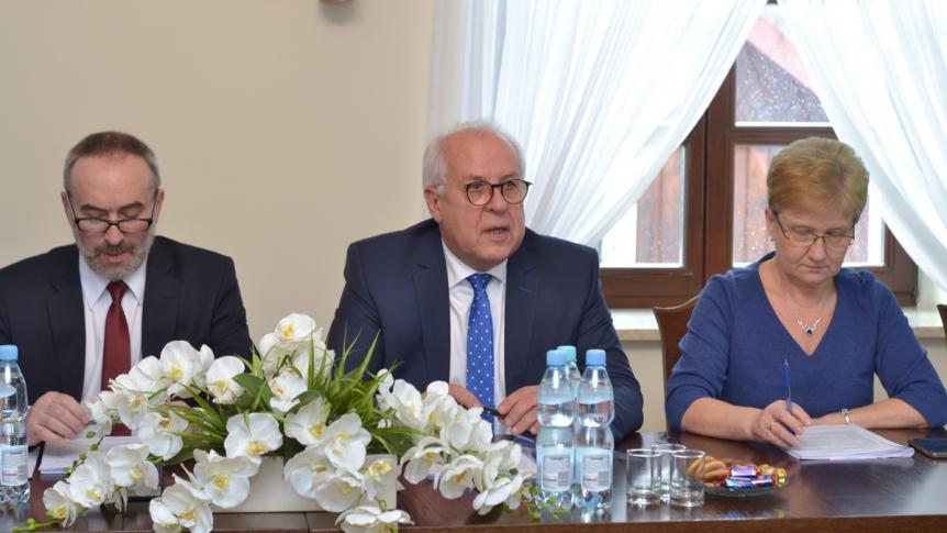 IX sesja Rady Gminy w Broku