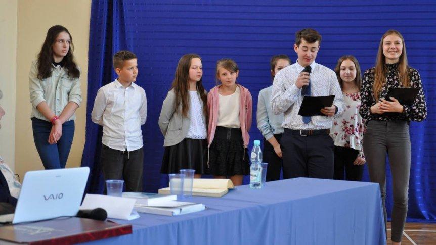 Uczniowie ZPPO w Broku na seminarium gwaroznawczym