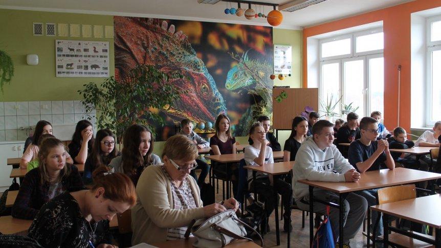 Spotkanie uczniów ZPPO w Broku z doradcą zawodowym