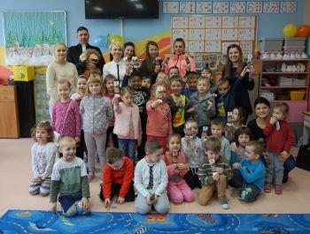 Dzieci z Przedszkola Miejskiego w Broku poznały zawody