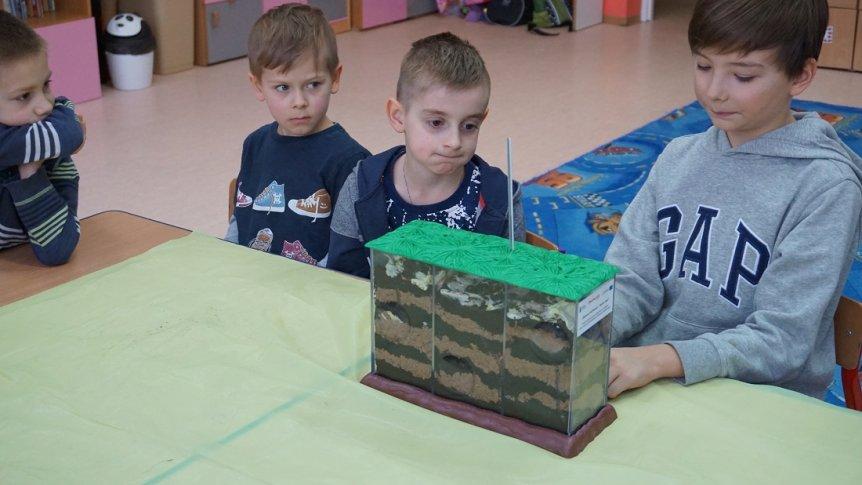 Eksperymentalne zajęcia w Przedszkolu Miejskim w Broku