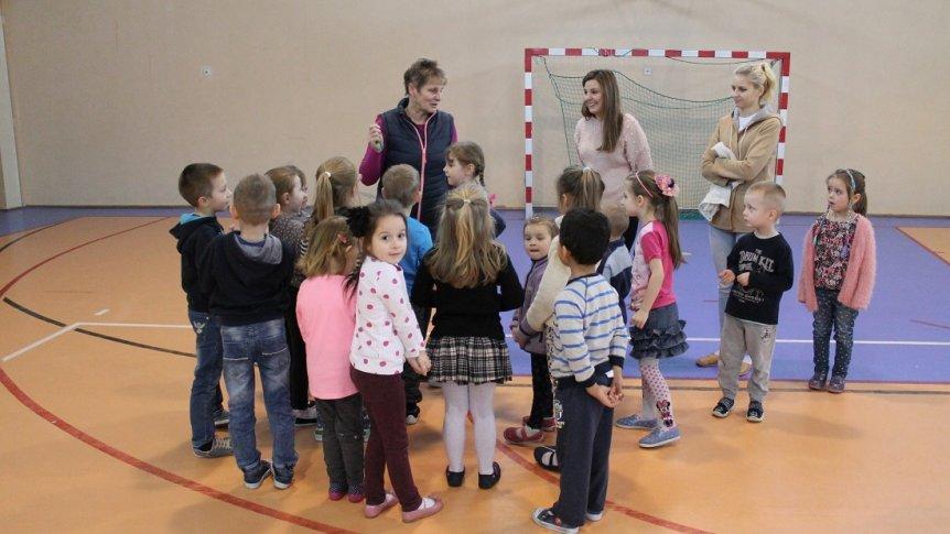 """""""Sport to zdrowie"""" - drużynowe zawody sportowe dla przedszkolaków w ZPPO w Broku"""